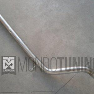 centrale diretto flessibile flex 500 595 695 abarth acciaio inox powermotive artigianale mondotuning mtelaborazioni