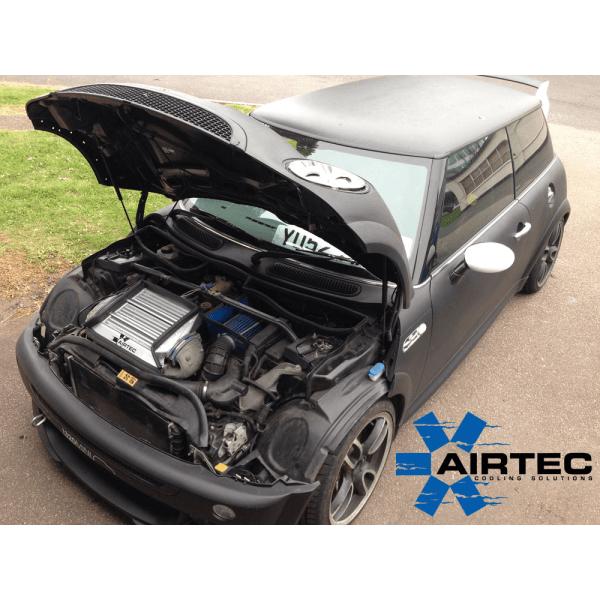 ATINTMINI02 intercooler maggiorato airtec motorsport mini cooper s r53 r53s superiore mondotuning mtelaborazioni raffreddamento aria volumetrico