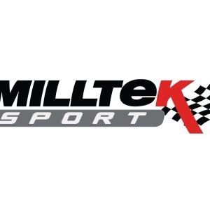 80mm Downpipe 200CPSI High Flow Sports Cat - Fits to Milltek Sport GPF Delete - Milltek per Ford Fiesta Mk8 ST - Codice Milltek: SSXFD333