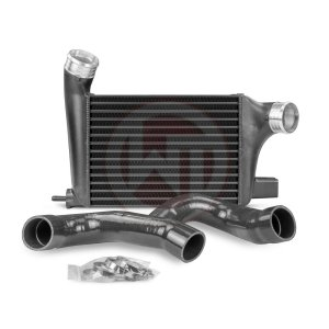 Competition Intercooler Kit Renault Clio 4 RS Renault Clio 4 Renault Clio 4 RS 200001088 wagner wagnertuning mondotuning mtelaborazioni COMPETITION INTERCOOLER KIT RENAULT CLIO 4 RSItem no.: 200001088The high performance intercooler has the following core dimension (300mm x 222mm x125mm) = 7