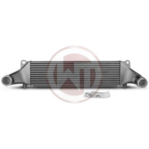 Comp. Intercooler Kit EVO1 Audi  RS3 8V TTRS 8S Audi RSQ3 F3 Audi RSQ3 F3 200001107 wagner wagnertuning mondotuning mtelaborazioni Competition Intercooler Kit EVO1 for Audi RS3 8V and TTRS 8SAudi RS3 8V Sportback 270KW/367PS 04/2015¶?04/2016Audi RS3 8V Sportback/Sedan 294KW/400PS 08/2017+Audi TTRS 8S 294KW/400PS 11/2016+Audi RSQ3 F3 294KW/400PS 10/2019+The Competition Intercooler has the following core dimensions (660x180x110 = 13.070cm¶ü). The high performance intercooler core provides a 14% larger frontal area and 57% more volume compared to the stock mounted intercooler. Our engineers have increased the intercooler core size and efficiency