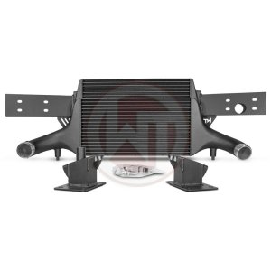 Competition Intercooler EVO 3 Audi TTRS 8S Audi TTRS 8S Audi TTRS 8S 200001136 wagner wagnertuning mondotuning mtelaborazioni now available with TÇ?V certificate!Competition Intercooler Kit EVO3 for Audi TTRS 8SThe high performance intercooler has the following core dimension (515mm x 367mm x 95mm = 16.500cm¶ü) and thus offers a 84% larger cooling surface and 101% more charge air volume compared to the original intercooler. Our engineers have increased the intercooler core size and efficiency