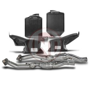 Competition Package Audi S4 B5 IC+DP Audi Packages Audi 700001001 wagner wagnertuning mondotuning mtelaborazioni The Competition Package for the Audi S4 B5 consists of the Intercooler Upgrade Kit and the Downpipe Kit.Intercooler Upgrade Kit 200001006The WAGNERTUNING Audi B5 S4 Intercooler Kit is a high performance redesign of the original Audi OEM intercooler designed specifically for the B5 enthusiasts.Our engineers have increased the intercooler core and improved the end tank design to remove any OEM bottlenecks