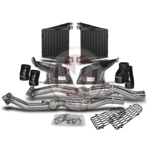 Competition Package Audi RS4 B5 IC+DP Audi Packages Audi 700001002 wagner wagnertuning mondotuning mtelaborazioni The Competition Package for the Audi RS4 B5 consists of the Intercooler Upgrade Kit and the Downpipe Kit.Intercooler Upgrade Kit 200001139The WAGNERTUNING Audi B5 RS4 Intercooler Kit is a high performance redesign of the stock mounted Audi intercooler and specifically designed for the B5 enthusiasts.Our engineers have increased the intercooler core size and efficiency