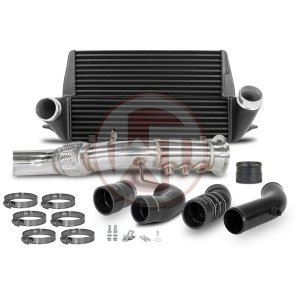 Comp. Package EVO3 BMW 335d E-series BMW BMW 3er BMW 3er E91 700001065 wagner wagnertuning mondotuning mtelaborazioni The competition package for the BMW E-serie consists of the Intercooler Upgrade Kit EVO3 and the Downpipe Kit with DPF-delete for following vehicles.BMW 335d E90/E91/E92/E93Intercooler Upgrade Kit 200001130The BMW Competition Intercooler Kit EVO III has the following core dimensions (510mm x 303mm x 180mm / stepped