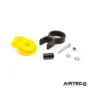 ATMSFO4 supporto motore lato cambio inferiore rinforzato ford focus rs mk3 airtec powerflex mtelaborazioni inserto giallo viola nero ford focus rs mk3