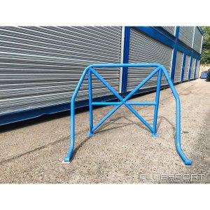 ASCCAGE5 roll-bar rear cage gabbia posteriore airtec clubsport autospecialist ford focus rs mk3 pista strada mtelaborazioni