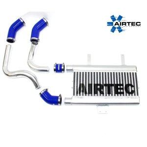 ATINTP&C5 intercooler maggiorato frontale airtec motorsport peugeot 207 gti 1.6 thp mtelaborazioni importatore girotubi alluminio maggiorati manicotti silicone