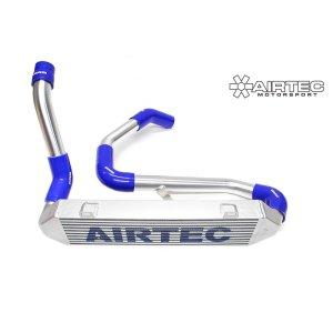 ATINTP&C8 intercooler maggiorato frontale peugeot rcz 1.6 thp girotubi maggiorati manicotti silicone airtec motorsport mtelaborazioni