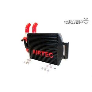 ATINTP&C9 intercooler maggiorato frontale stage 3 airtec motorsport peugeot 207 gti v2 tubazioni maggiorate manicotti silicone mtelaborazioni