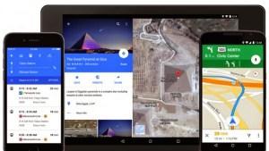 """تحديث جديد لــ""""google maps"""" فى شكل التصميم للايفون والاندرويد"""