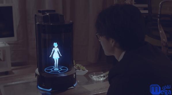 اليابان تطلق مساعد شخصي ثلاثي الابعاد للتفاعل مع المستخدمين
