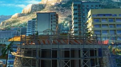 Construction site & cul-de-sac
