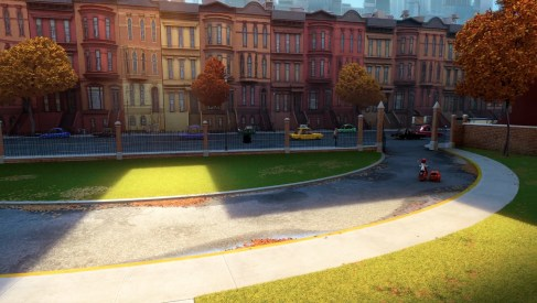 Brownstone building texturing system