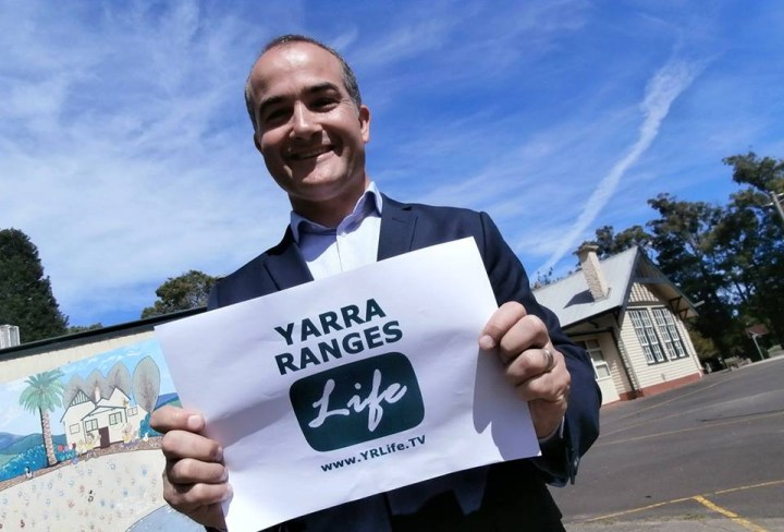 Yarra Ranges LIFE TV interviews James Merlino