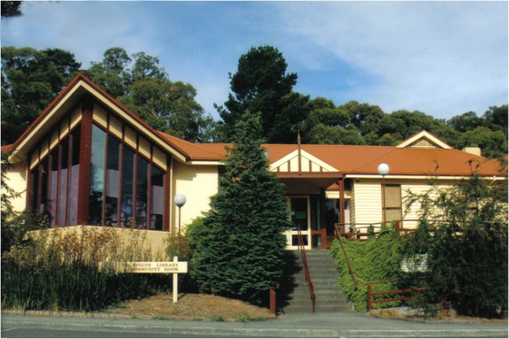 Station House and Mt Evelyn Library