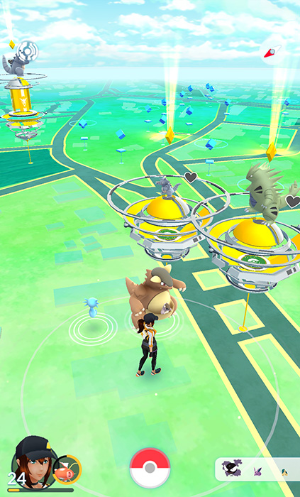 New Pokemon Gym