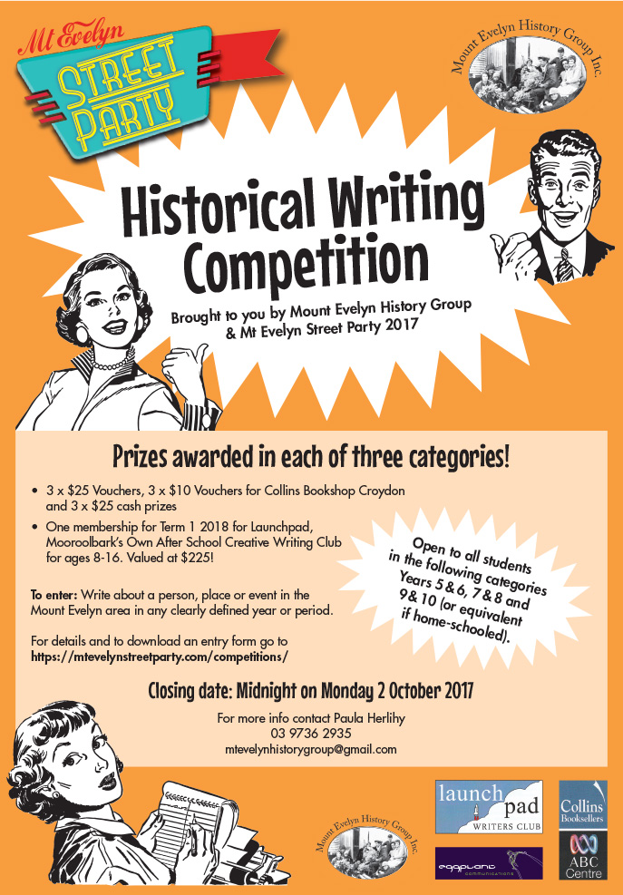 Historical Writing Competition