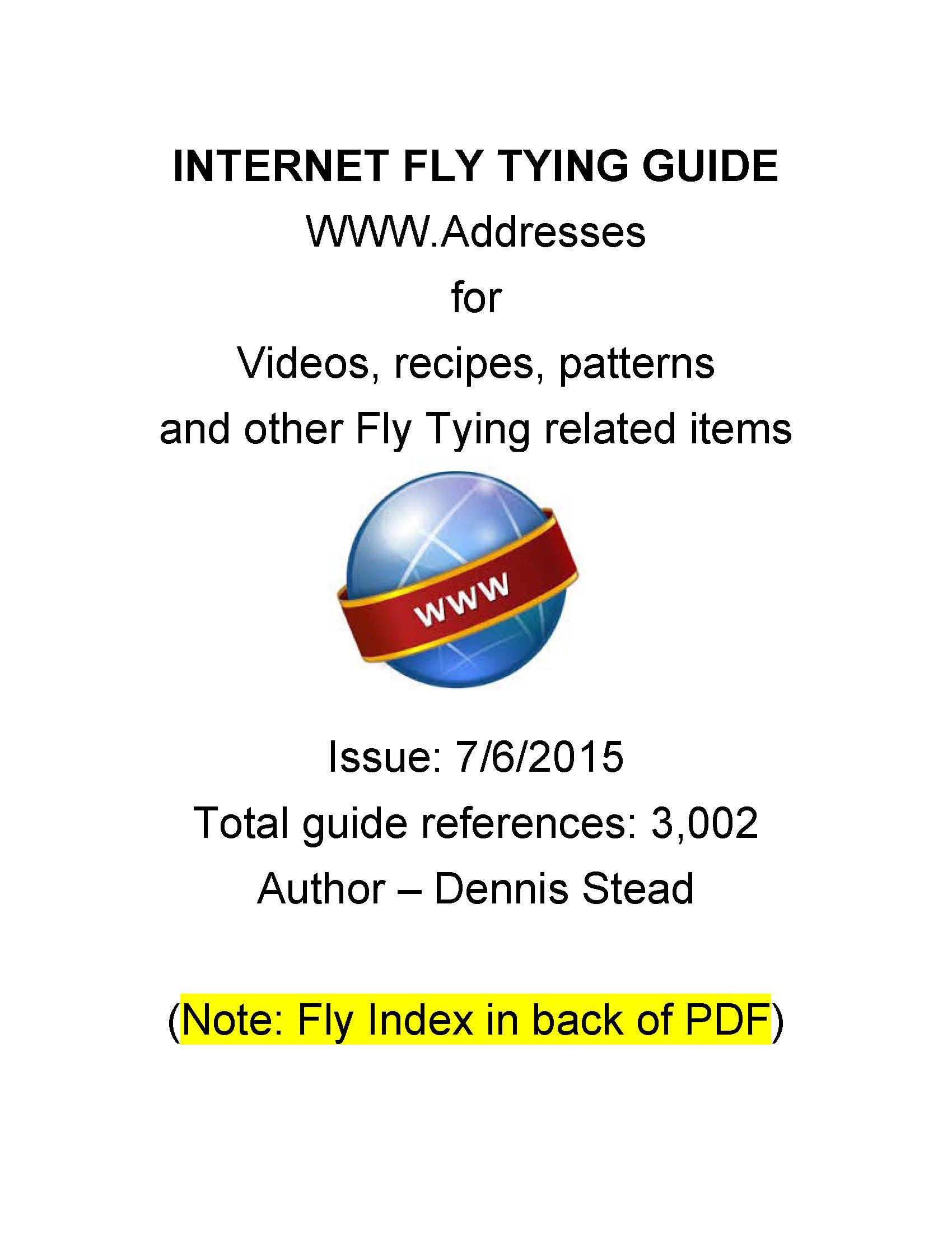 Fly Tying Guide
