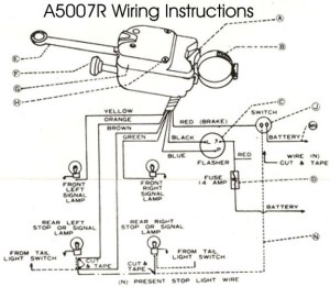 Model T Ford Forum: Wiring diagram turn signal