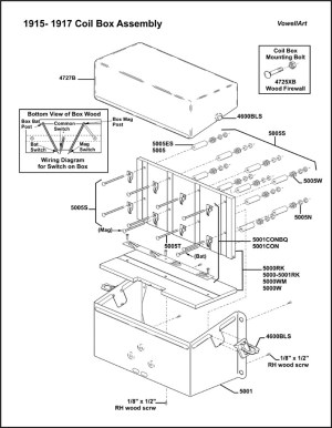 Model T Ford Forum: 1915 Wiring Diagram for the Coil Box