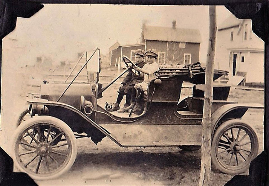 Image result for model t kids vintage photo