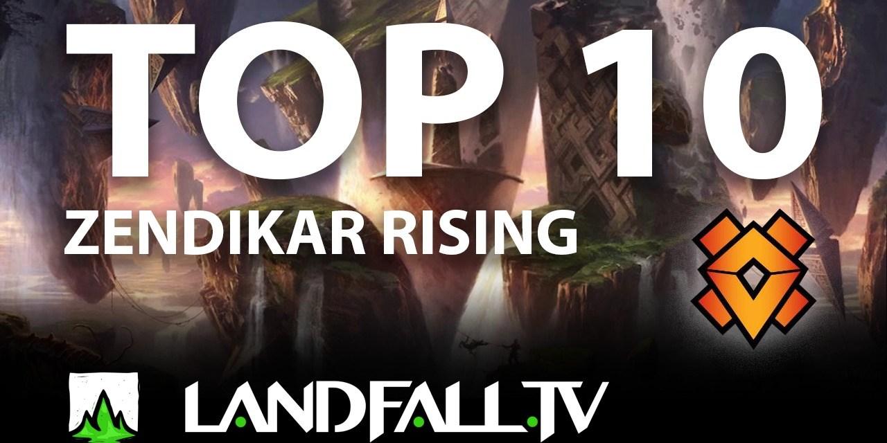 Protegido: TOP 10 de Zendikar Rising para Commander   #MTGZendikar   Landfall TV#57   EDH en Español