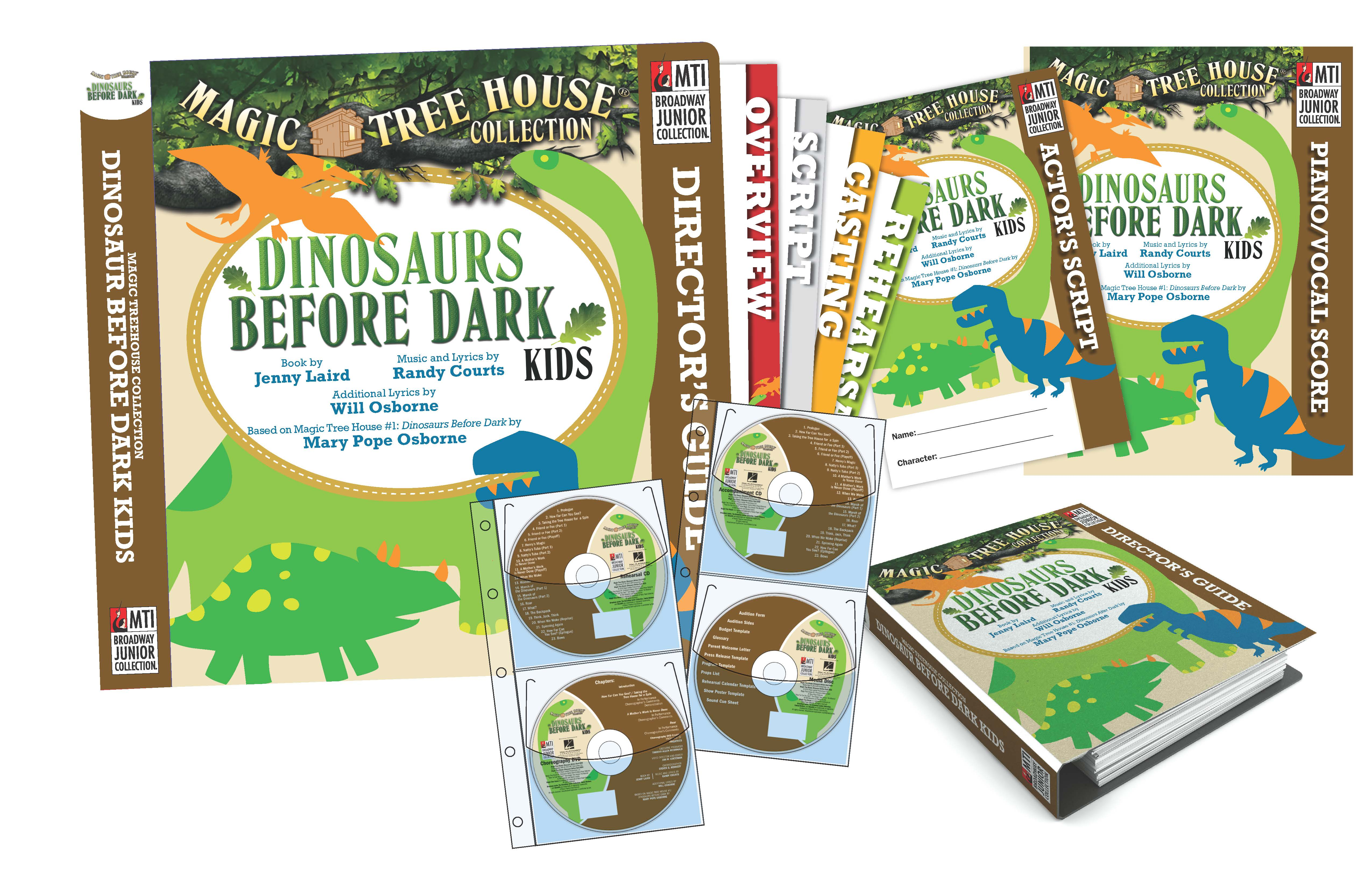 Magic Tree House Dinosaurs Before Dark Kids