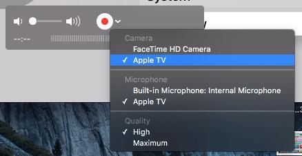 Screen Shot Apple TV