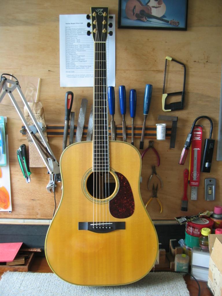 Adjusting Action Guitar