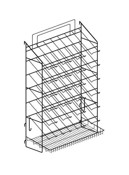 Блок-мастер ВМ 4х7 с корзиной
