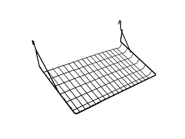 Металлическая корзина PVM-L 3х7 для торговой стойки