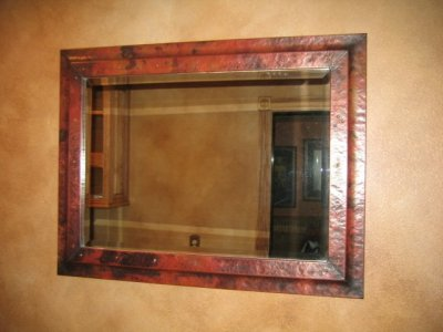 Frames and Mirrors - Mountain Copper Creations