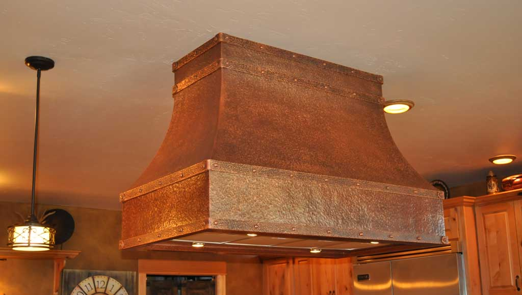 Island Range Hoods Mountain Copper Creations