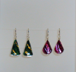 sterling silver & hand crafted glass jewelery by Asheville's Renaissance Glass