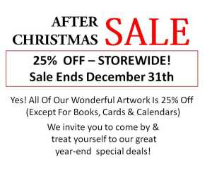after-christmas sale 25