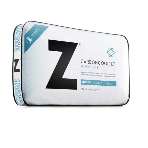 Z Carbon Cool LT Pillow, King