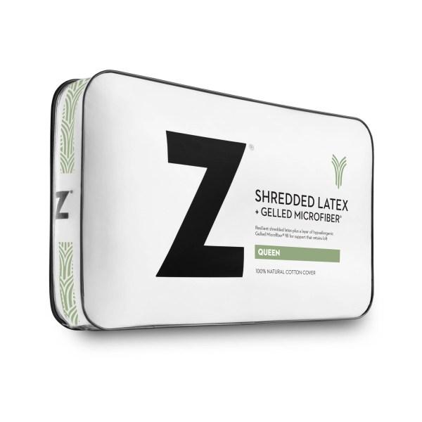 Shredded Latex + Gelled Microfiber®King