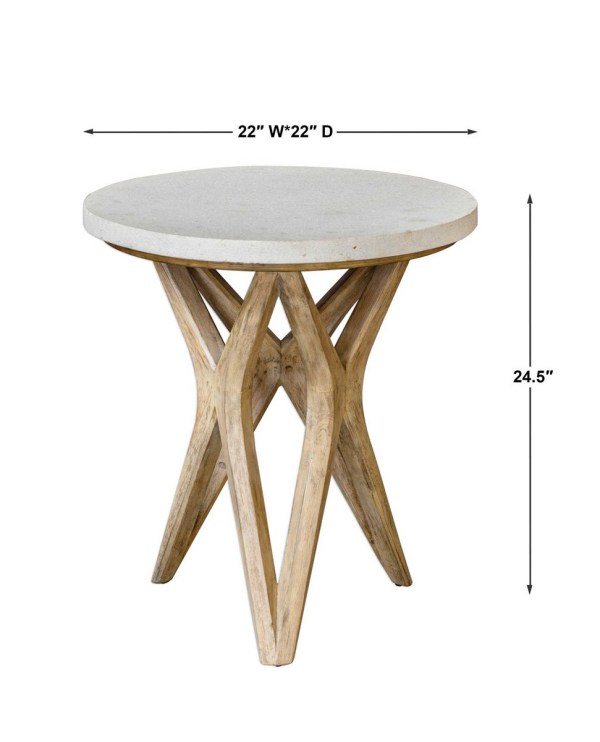 uttermost marnie side table