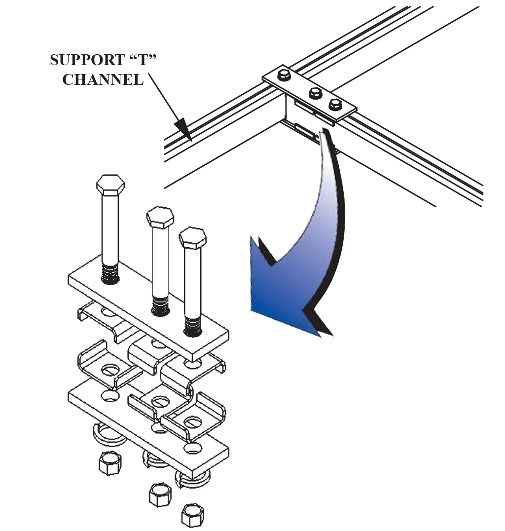 Auxiliary Channel T Junction