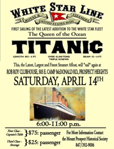 Mount Prospect Historical Society revisits the Titanic