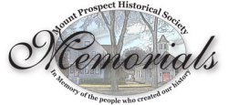 Mount Prospect Historical Society Memorials