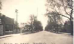 Busse Avenue Looking East 1938