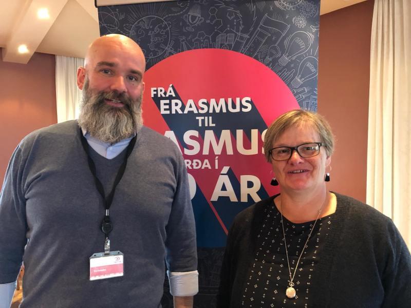 Jón Svanur og Ida mynd LS