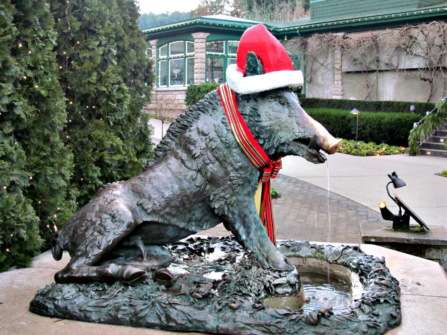 рождественский кабан