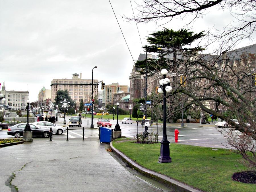 декабрь на острове Ванкувер