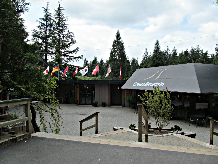 Ванкувер, горы