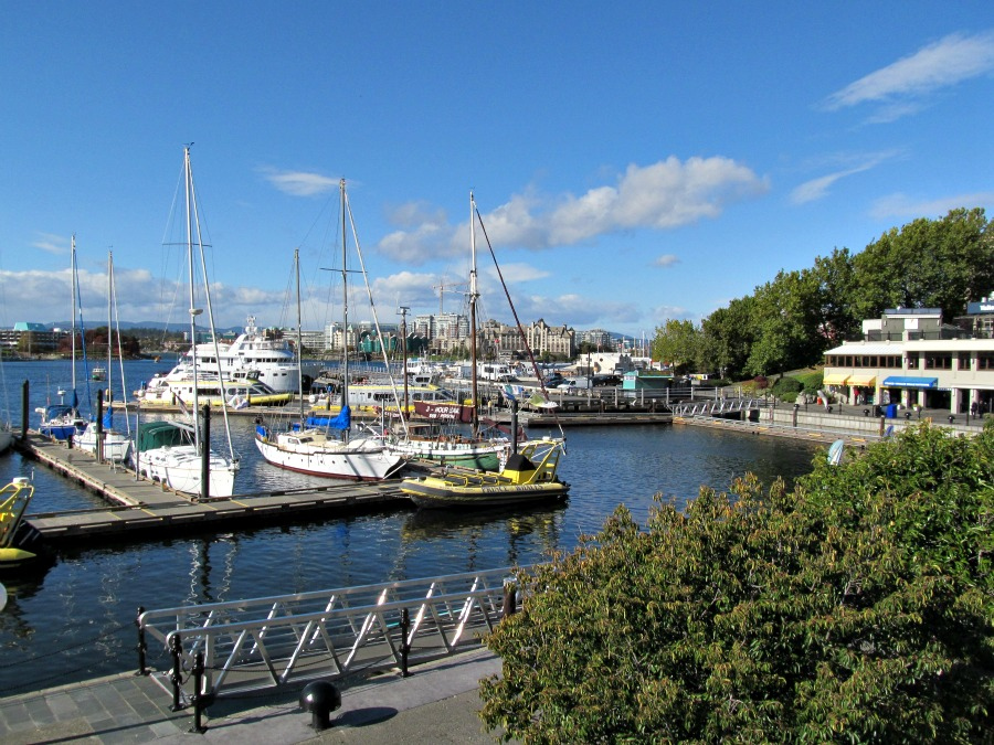 октябрь в виктории, остров Ванкувер