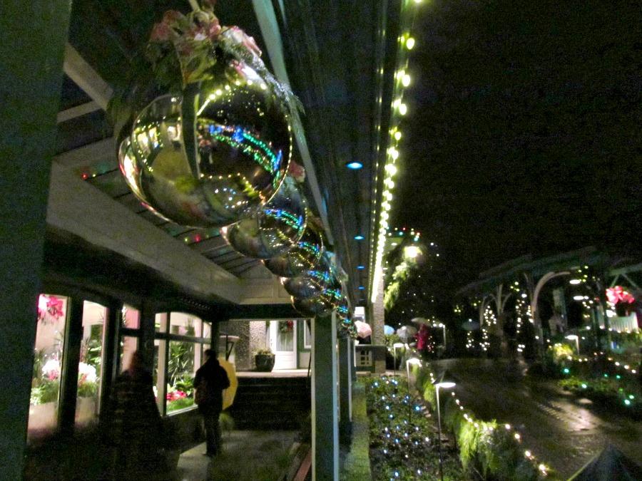 рождество в Бучарт садах