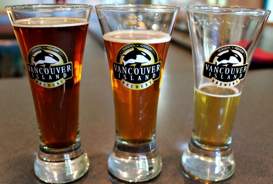 пиво на острове Ванкувер